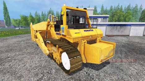 Komatsu D575A for Farming Simulator 2015