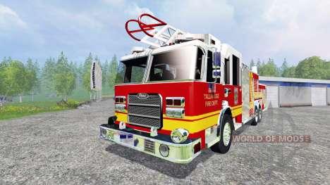 American Firetruck for Farming Simulator 2015