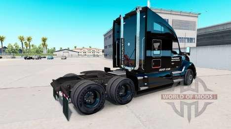 Allen Transport skin for Kenworth tractor for American Truck Simulator