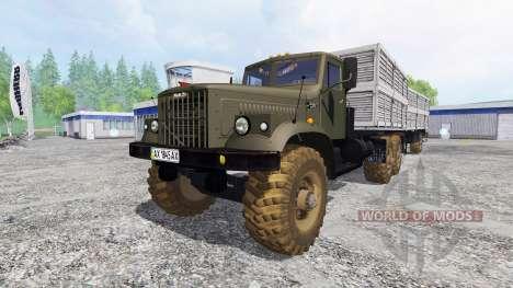 KrAZ-256 v2.1 for Farming Simulator 2015