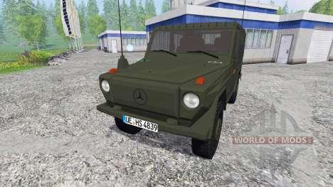 Mercedes-Benz 250 GD (W460) Wolf for Farming Simulator 2015