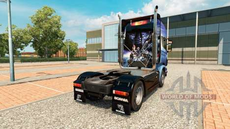 Mass Effect skin for Scania truck for Euro Truck Simulator 2