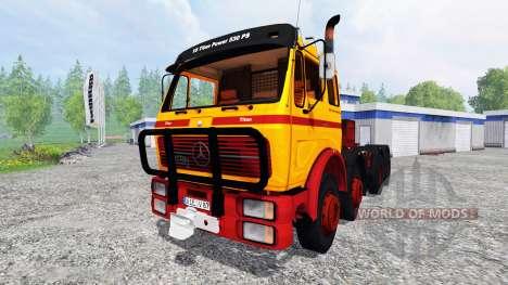 Mercedes-Benz NG 1632 [heavy duty] for Farming Simulator 2015