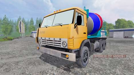 KamAZ 55102 [mixer] for Farming Simulator 2015