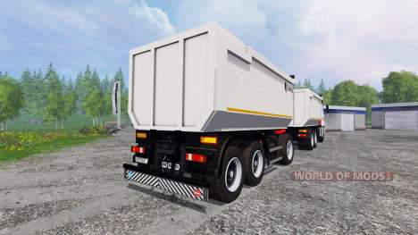 KamAZ-6580 for Farming Simulator 2015