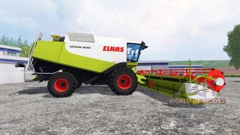 CLAAS Lexion 600 for Farming Simulator 2015