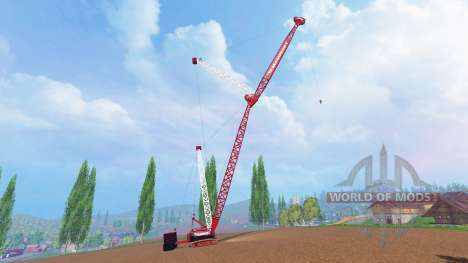 400 ton crawler crane for Farming Simulator 2015