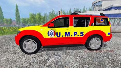 Nissan Pathfinder UMPS for Farming Simulator 2015