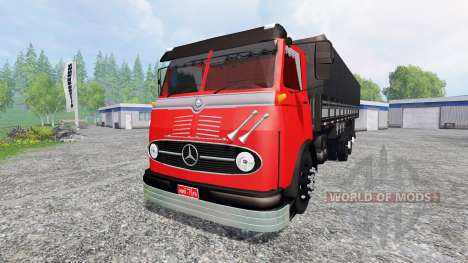 Mercedes-Benz LP 321 for Farming Simulator 2015