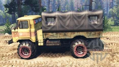 GAZ-66 v2.0 for Spin Tires