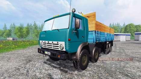 KamAZ-6530 v2.6 for Farming Simulator 2015
