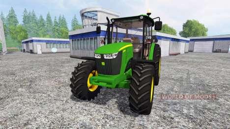 John Deere 5085M for Farming Simulator 2015