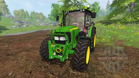 John Deere 5080M [washable] for Farming Simulator 2015