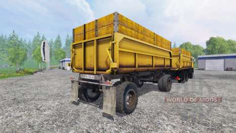 KamAZ-45143 for Farming Simulator 2015