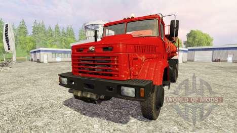 The KrAZ-65053 for Farming Simulator 2015