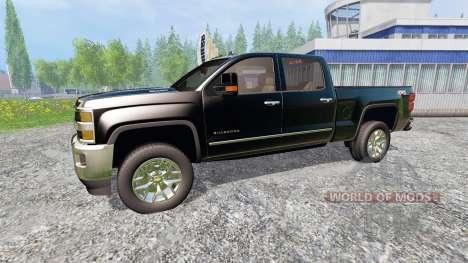 Chevrolet Silverado 2500 for Farming Simulator 2015