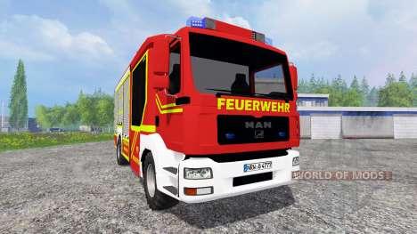 MAN TGA [feuerwehr] for Farming Simulator 2015