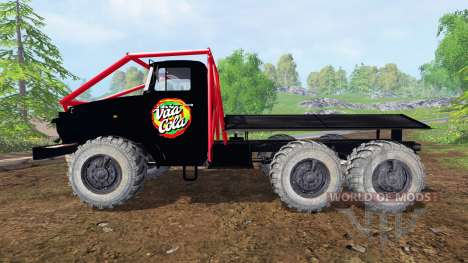 Ural-375 Vita-Cola for Farming Simulator 2015
