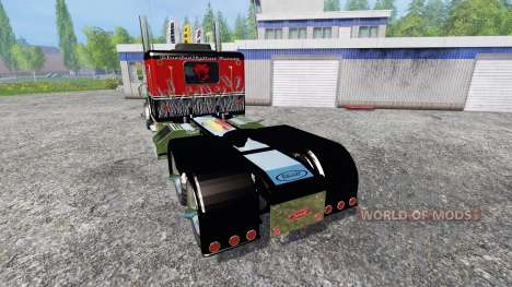 Peterbilt 379 [murderklok edition] for Farming Simulator 2015
