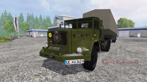 Magirus-Deutz Jupiter for Farming Simulator 2015
