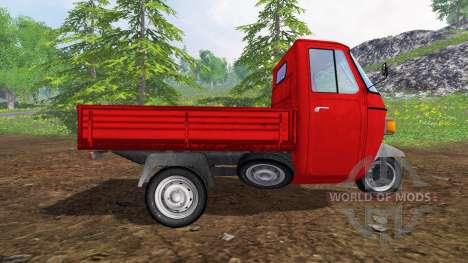 Piaggio Ape P601 UPK for Farming Simulator 2015