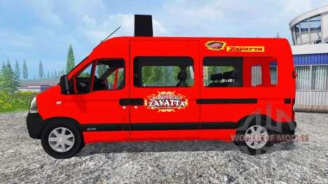 Renault Master Zavatta for Farming Simulator 2015