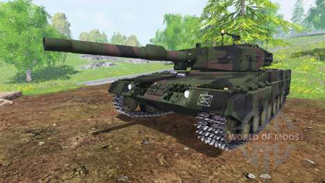 Leopard 2A4 for Farming Simulator 2015