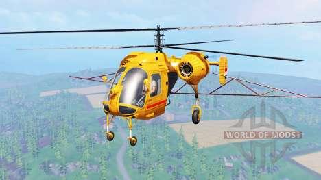 Ka-26 v3.0 for Farming Simulator 2015