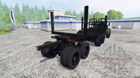 KrAZ-255Л for Farming Simulator 2015