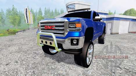 GMC Sierra 1500 2014 [better sounds] for Farming Simulator 2015