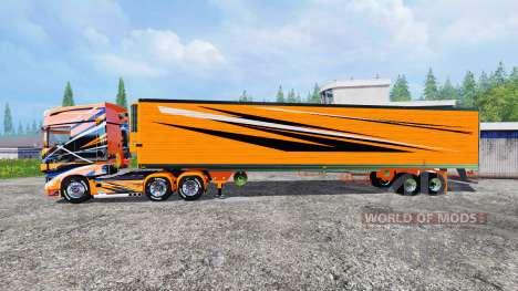Scania R700 [toprun] for Farming Simulator 2015
