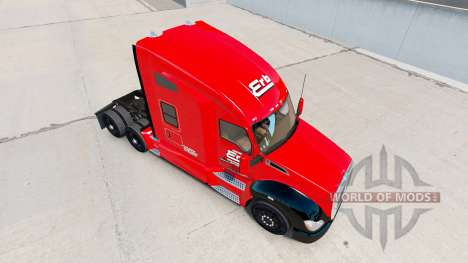 Erb Transport skin for Kenworth tractor for American Truck Simulator