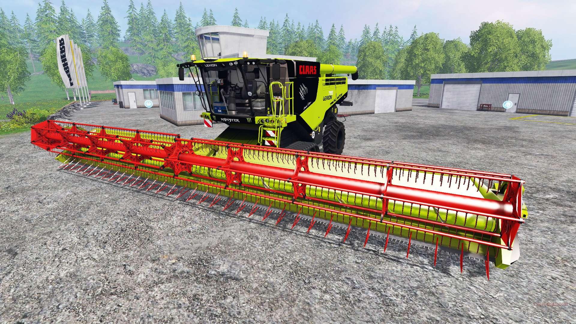 claas lexion 795 v1 2 for farming simulator 2015. Black Bedroom Furniture Sets. Home Design Ideas