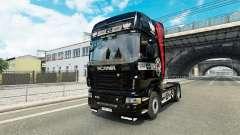 Pikas skin for Scania truck for Euro Truck Simulator 2
