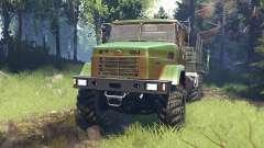 KrAZ-7140 v5.0 for Spin Tires