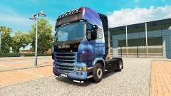 Mass Effect skin for Scania truck for Euro Truck Simulator 2
