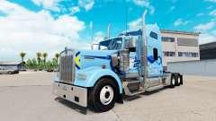 Skin Werner on the truck Kenworth W900 for American Truck Simulator