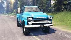 Chevrolet Apache 1959 v5.0 for Spin Tires