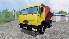 KamAZ-54115 Uploader and seeders trailer