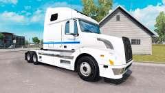Skin Con-way Truckload for truck tractor Volvo VNL 670 for American Truck Simulator