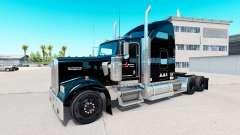 Skin Stevens Transport on truck Kenworth W900 for American Truck Simulator