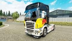 Red Bull skin for Scania truck for Euro Truck Simulator 2