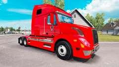 BR Williams skin for Volvo truck VNL 670 for American Truck Simulator