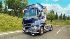 Winter skin for Scania truck for Euro Truck Simulator 2