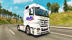 Skin Milky Way on the tractor Mercedes-Benz for Euro Truck Simulator 2