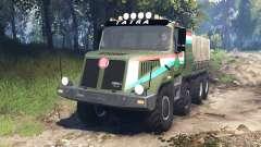 Tatra 163 Jamal 8x8 v5.0 for Spin Tires