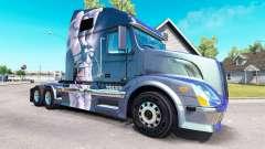 Fantasy skin for Volvo truck VNL 670 for American Truck Simulator