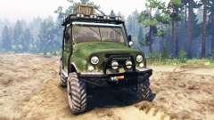 UAZ-469 [hybrid] for Spin Tires