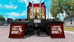Mudguards I Support Single Moms v1.4 for American Truck Simulator