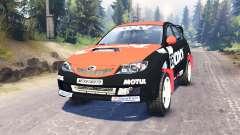 Subaru Impreza WRX for Spin Tires